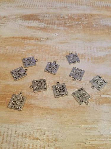 Friends Butterfly Charms x 10 A Pack