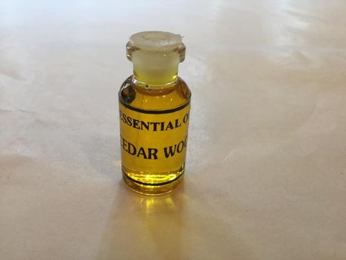 Cedar Wood Incense Burning Oil 4.5ml Bottle